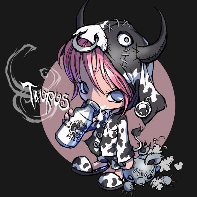 Tags: Anime, Cow Print, Toy, Milk, Zodiac, Taurus, Ume (Illegal Bible)