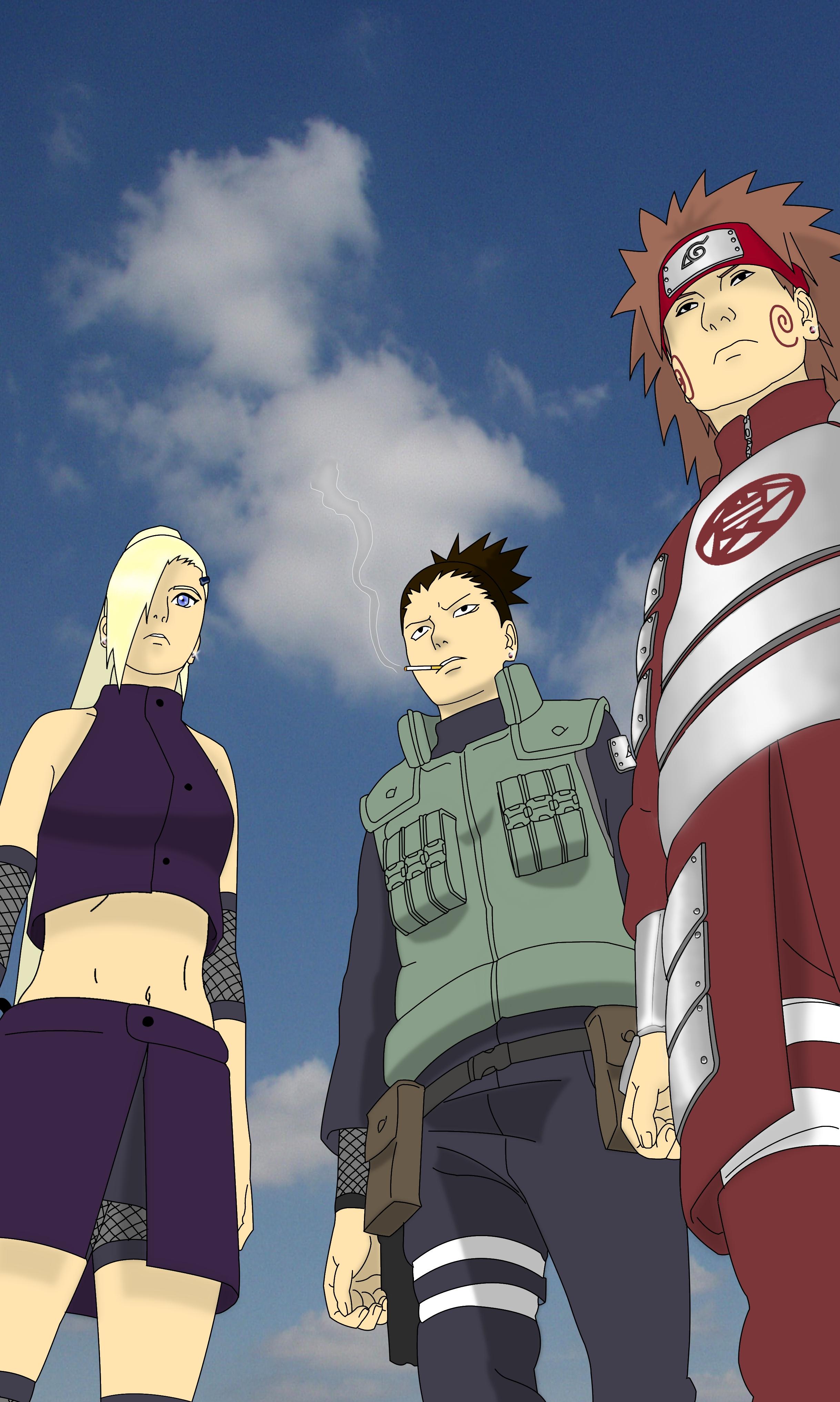 Naruto Team 10