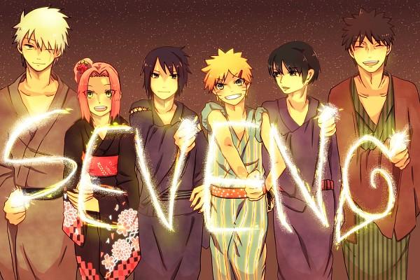 Tags: Anime, Pixiv Id 4519096, NARUTO, Uzumaki Naruto, Hatake Kakashi, Haruno Sakura, Sai