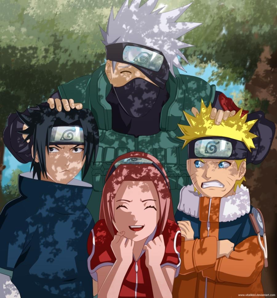 Naruto 631 Manga Chapter Review -- Team 7 Reunion & Naruto Vs ...