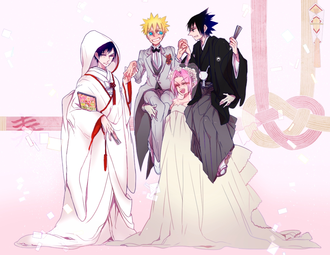 Sakura dress up game with naruto and sasuke pictures