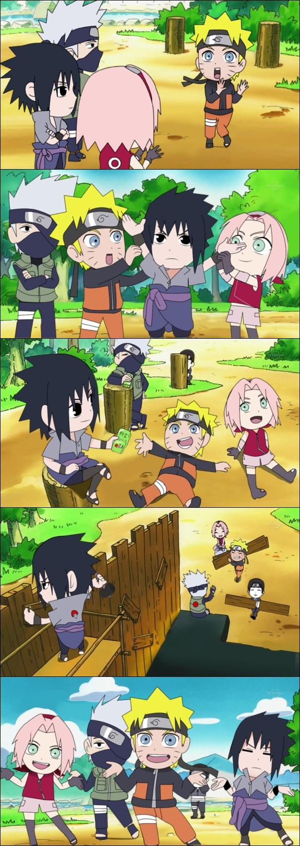 Tags: Anime, Pixiv Id 2445804, Rock Lee no Seishun Full-Power Ninden, NARUTO, Haruno Sakura, Hatake Kakashi, Sai, Uchiha Sasuke, Uzumaki Naruto, Team 7