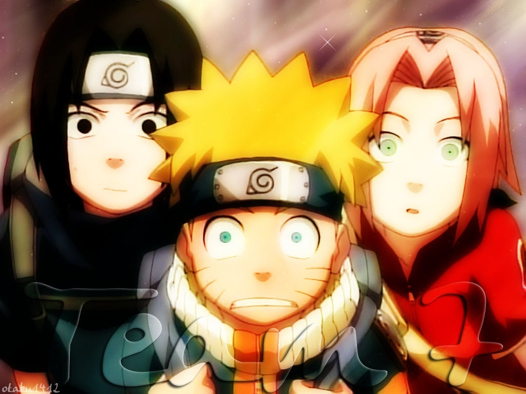 Team 7 naruto wallpaper 164515 zerochan anime image for Wohnzimmertisch team 7