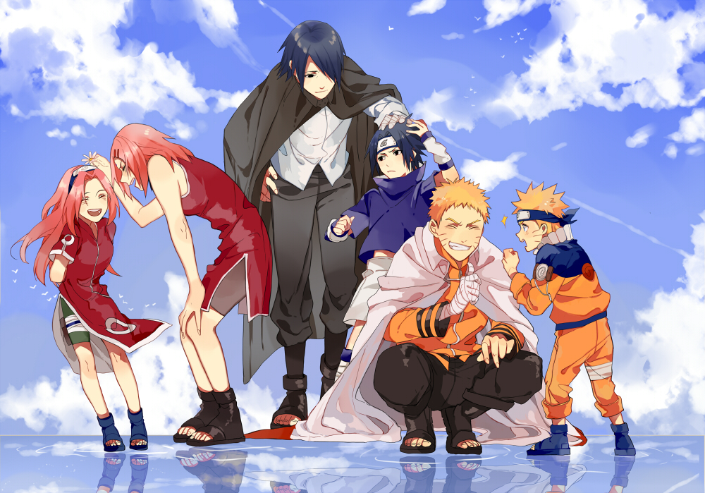 Team 7 naruto image 1922053 zerochan anime image board for Team 7 ohrensessel