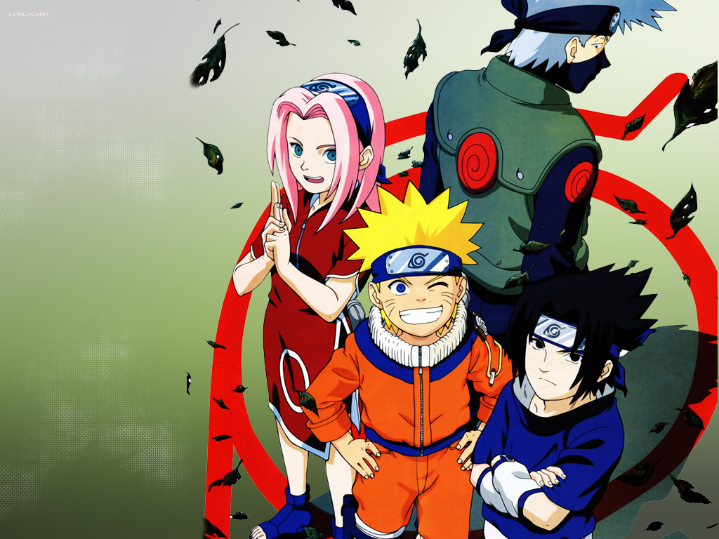 team 7 - naruto - wallpaper #25404 - zerochan anime image board