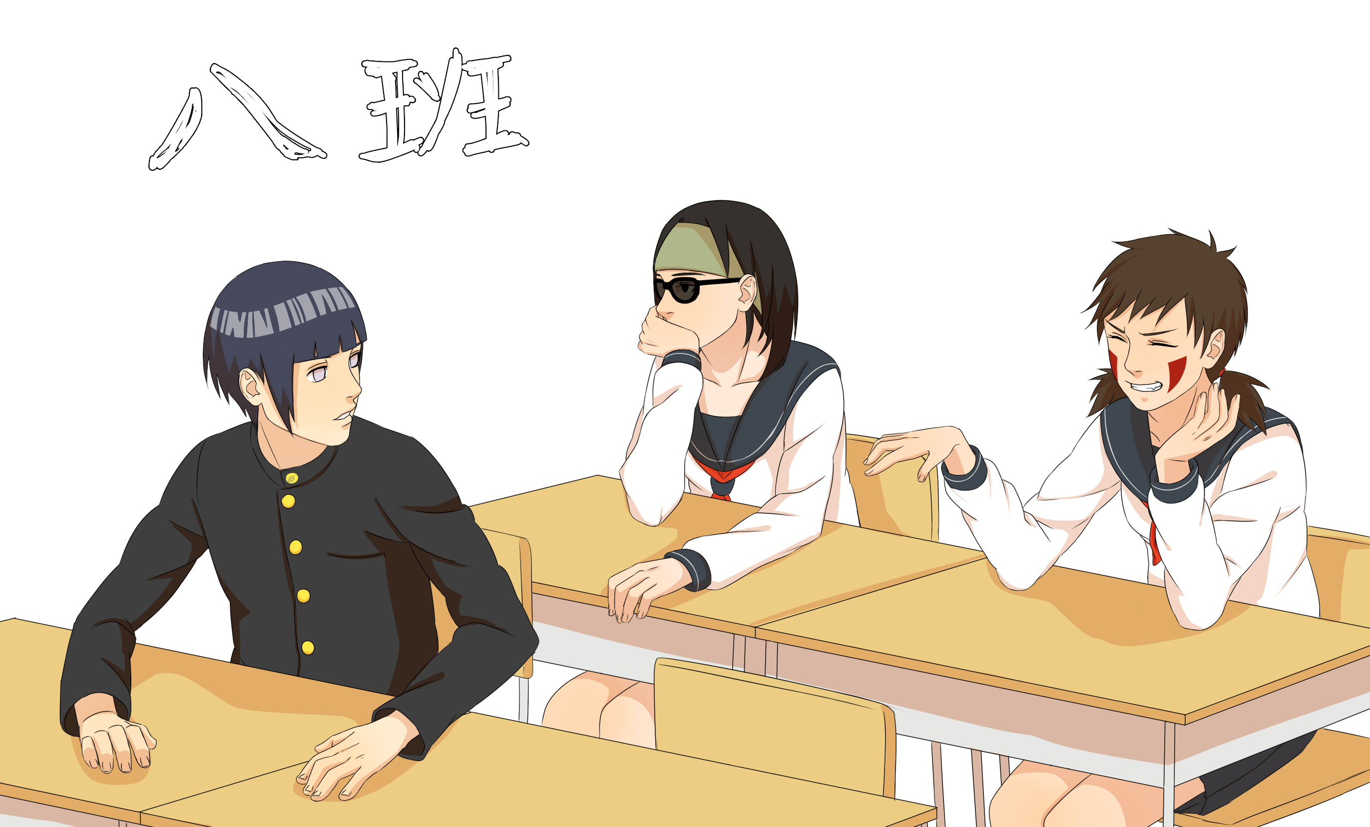 Team 8 - NARUTO - Wallpaper #1969005 - Zerochan Anime ...