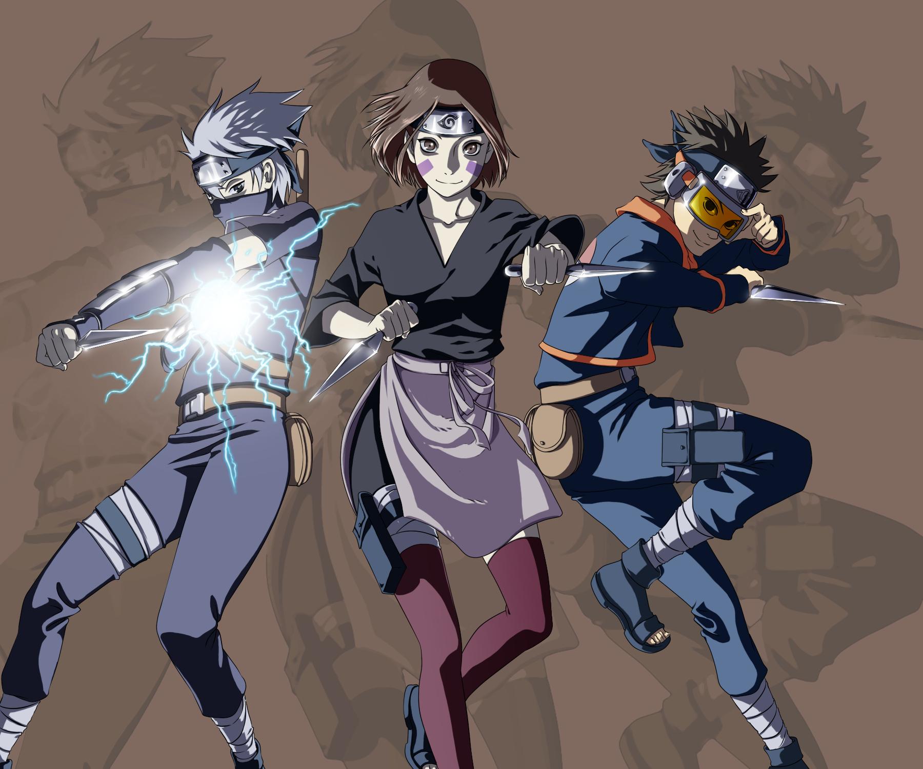Team Minato - NARUTO - Image #1925159 - Zerochan Anime ...