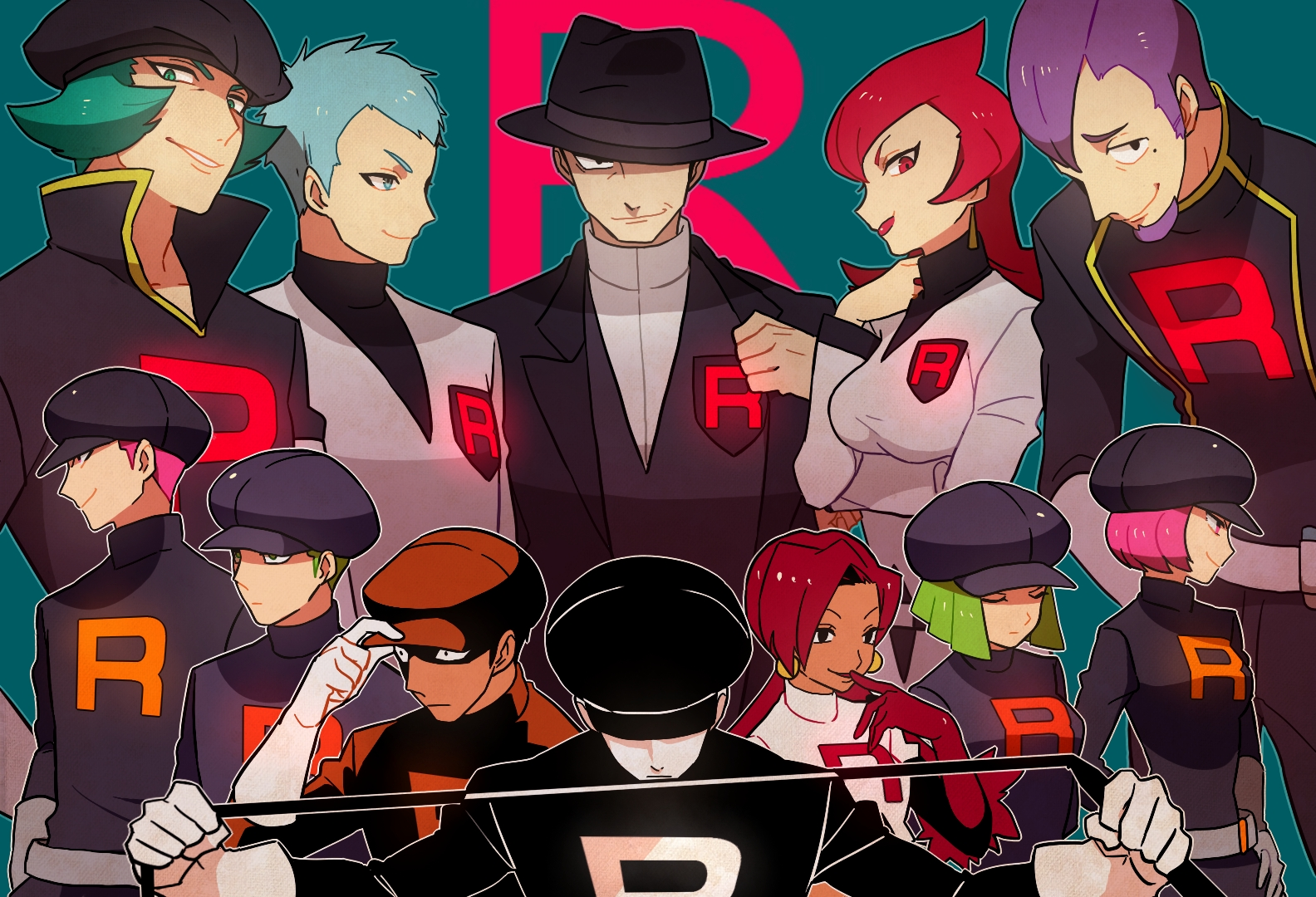 Battle! Team Rocket Grunt (OR/AS Style) Pokémon G/S/C/HG ...