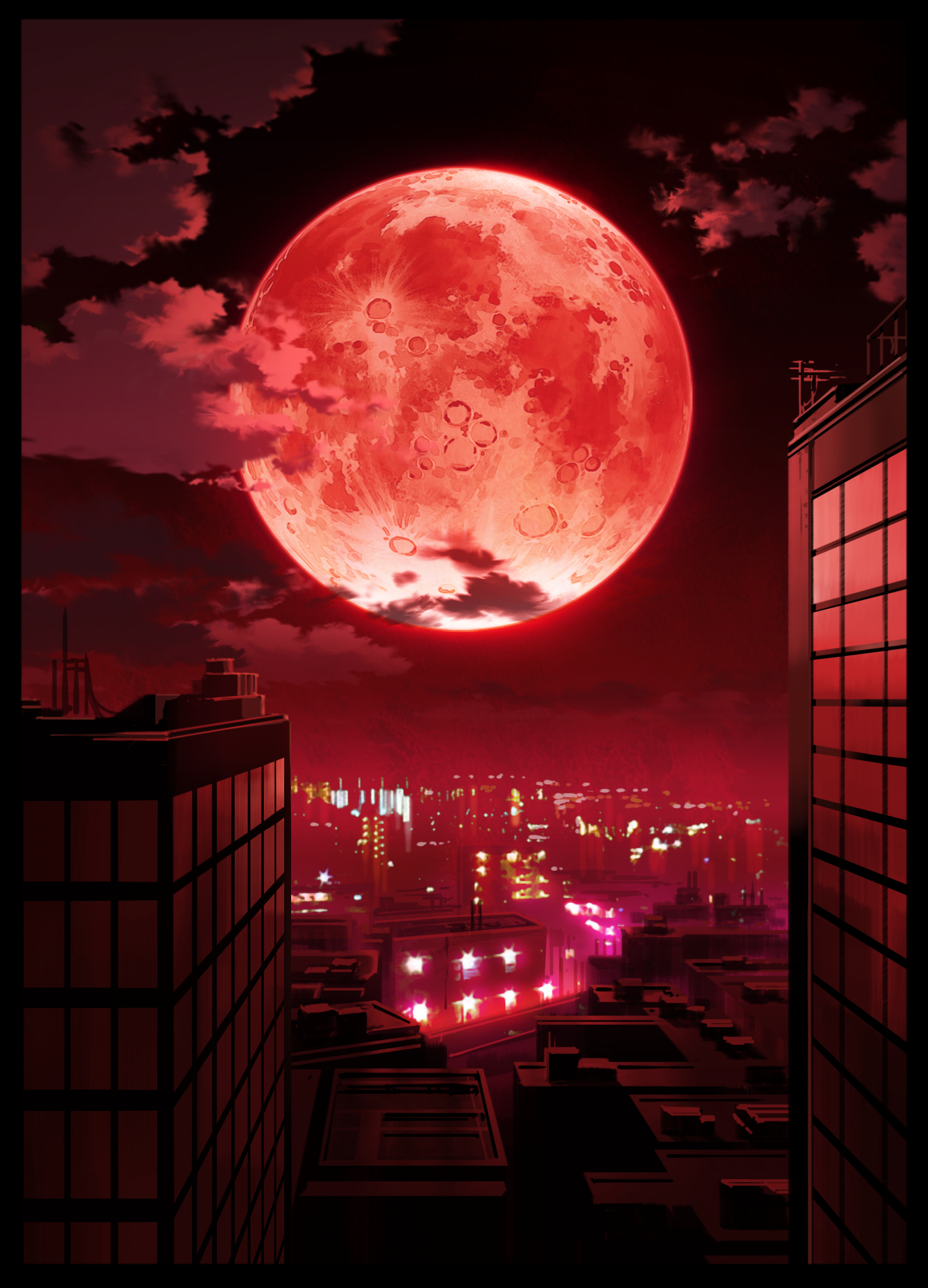 red moons on thumbnails - photo #12