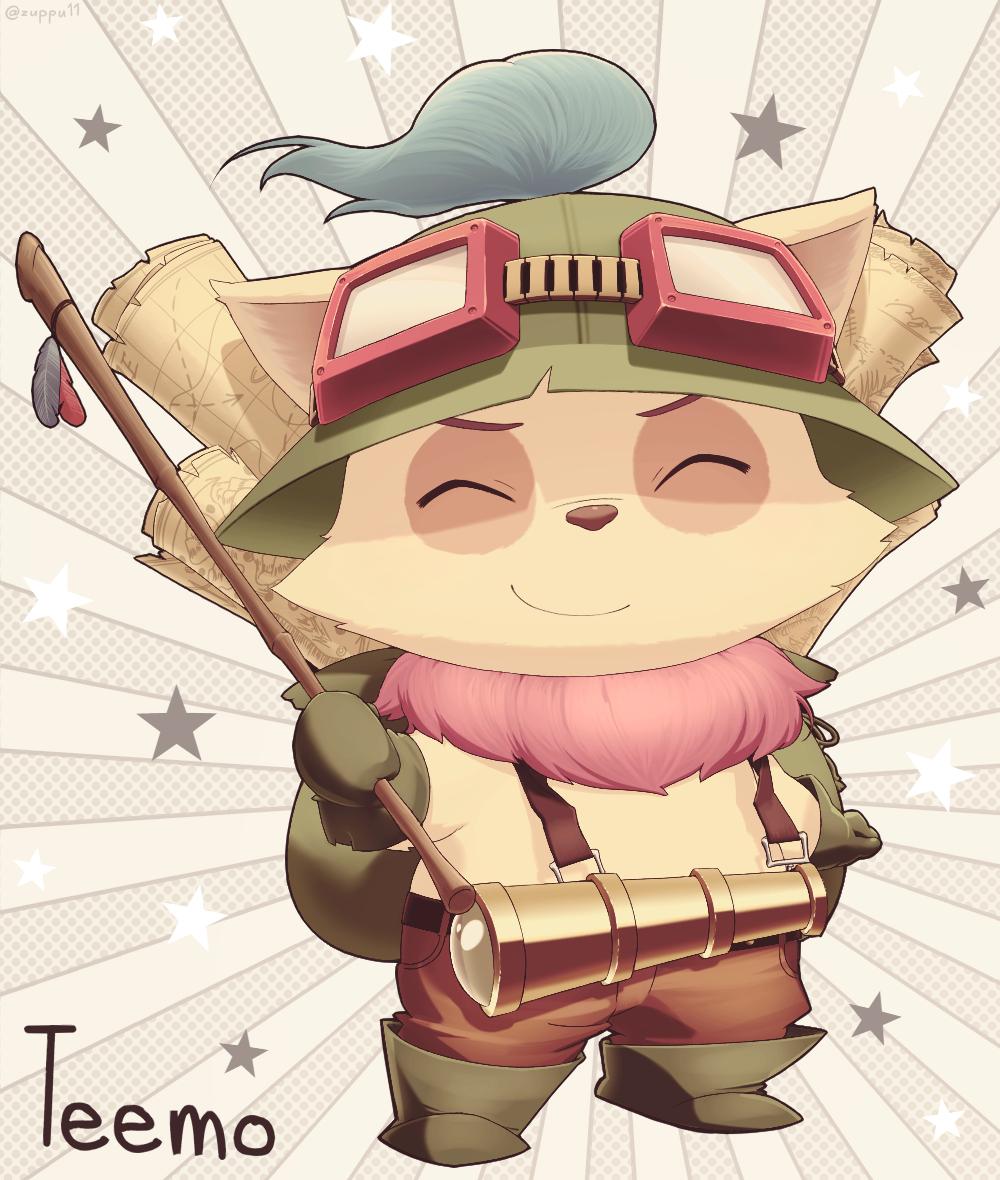 Teemo League Of Legends Zerochan Anime Image Board