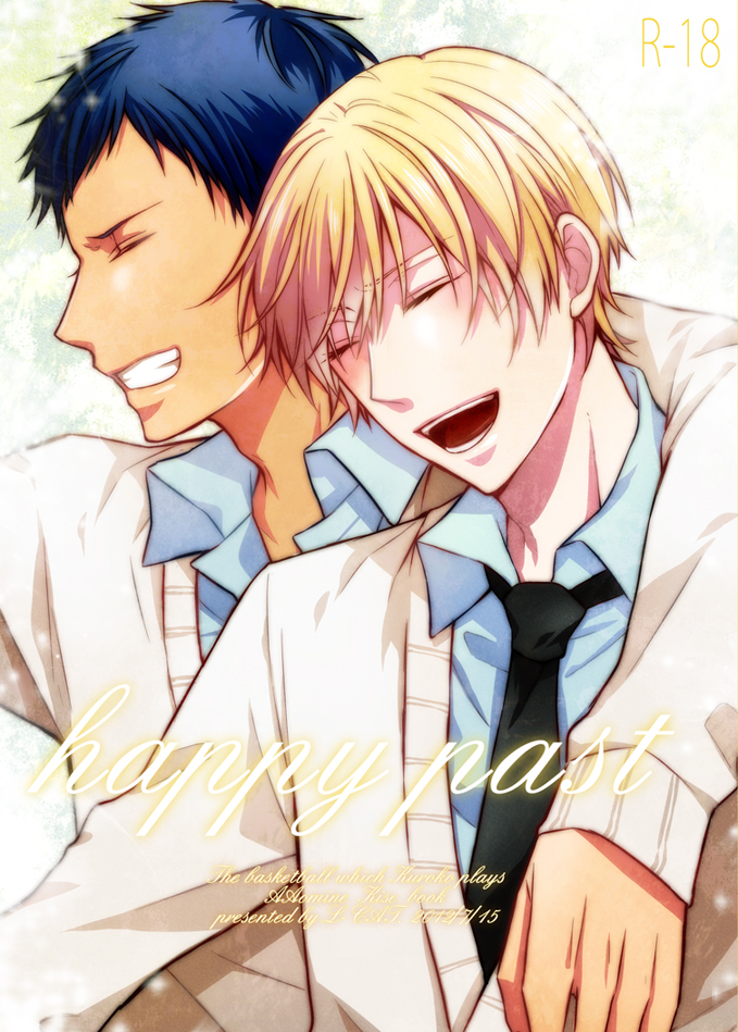 Tags: Anime, Nariko (L-CAT.), Kuroko no Basuke, Aomine Daiki, Kise Ryouta, Fanart From Pixiv, Pixiv, Fanart, Mobile Wallpaper, Kiseki no Sedai, Teikou Middle School