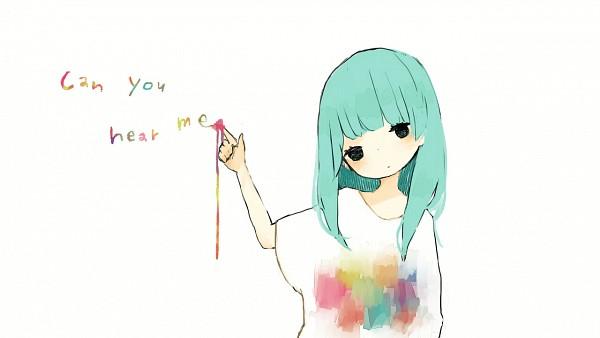 Tags: Anime, Tamao, VOCALOID, Hatsune Miku, Pale, 1280x720 Wallpaper, Loose Clothes
