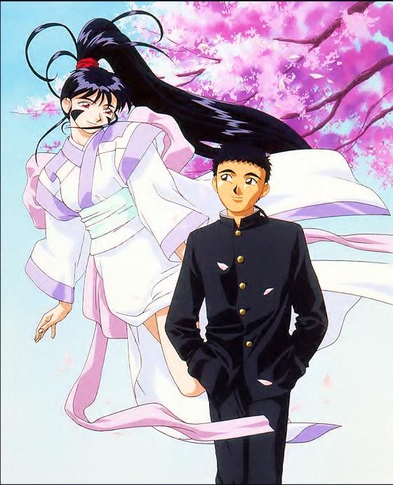Tags: Anime, Kajishima Masaki, Anime International Company, Geneon Pioneer, Tenchi Muyo! Ryo-Ohki, Masaki Tenchi, Achika Masaki, Official Art