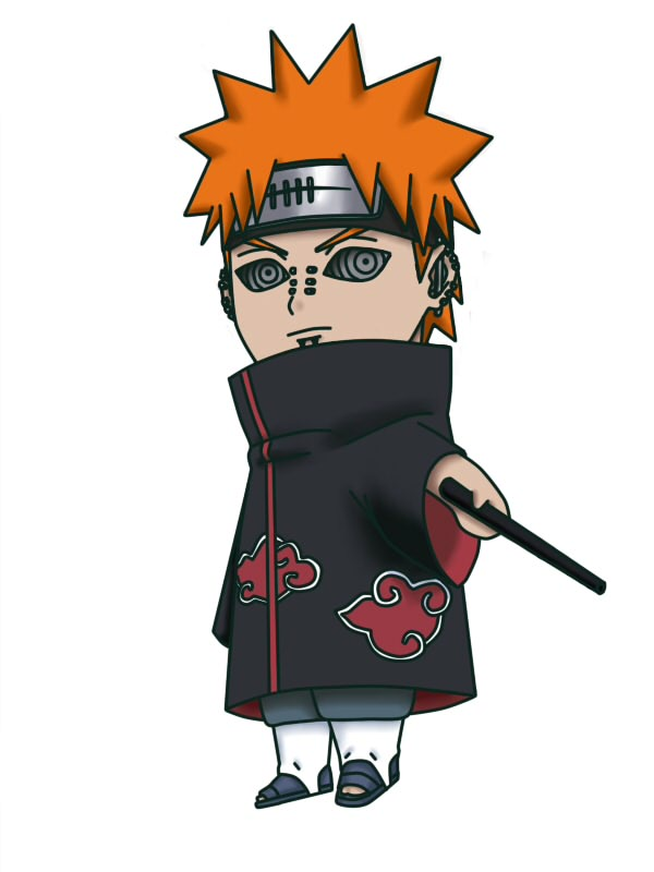 Tags: Anime, NARUTO, Tendou (Pein), Pein, Akatsuki (NARUTO)