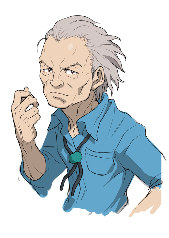 Anime elderly