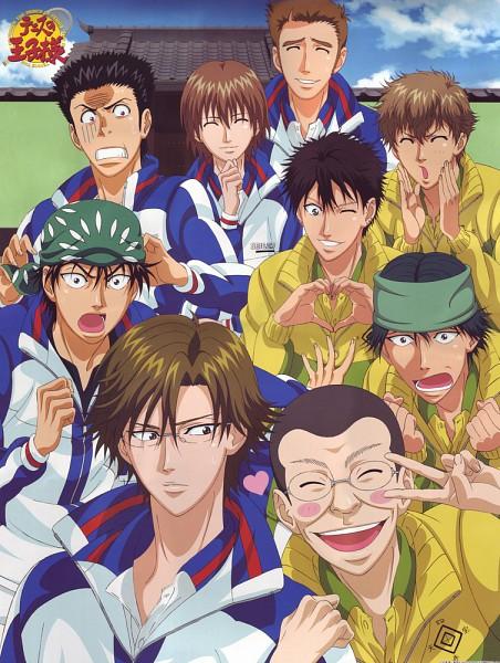 Tags: Anime, Tennis no Ouji-sama, Momoshiro Takeshi, Hitouji Yuuji, Zaizen Hikaru, Fuji Shuusuke, Kaido Kaoru