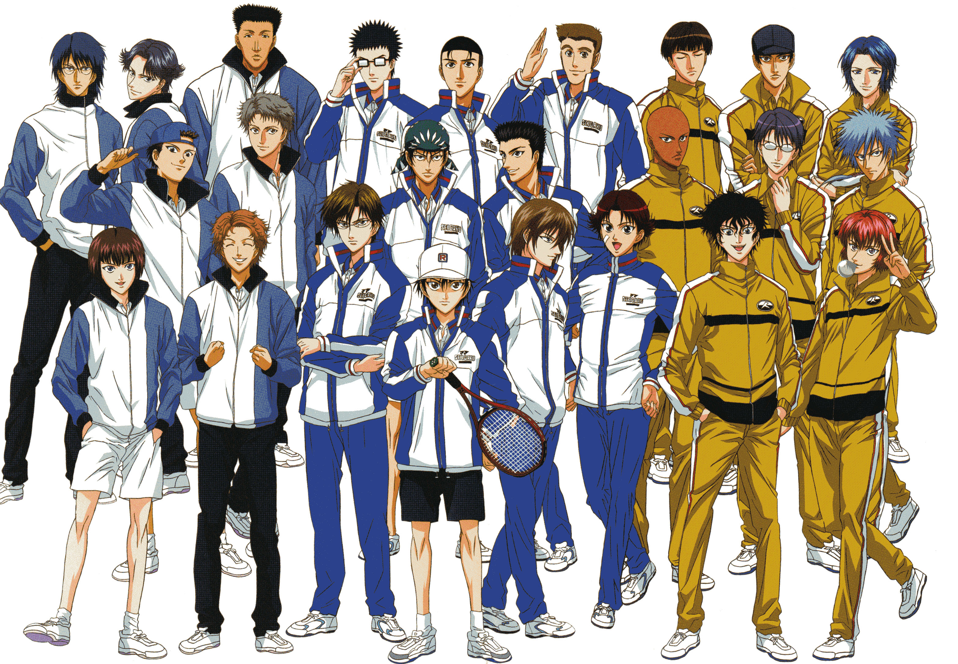 prince of tennis characters