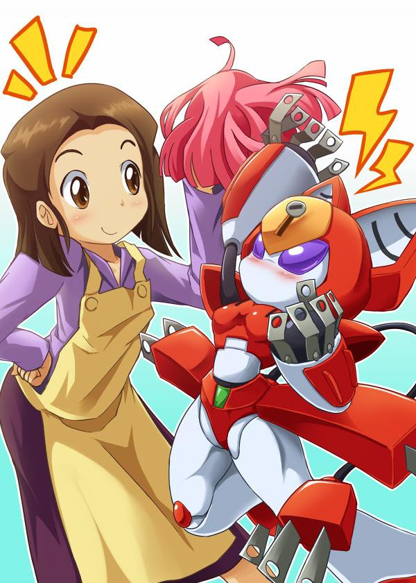 Tags: Anime, Medarot, Tenryou Chidori, Peppercat, Pixiv