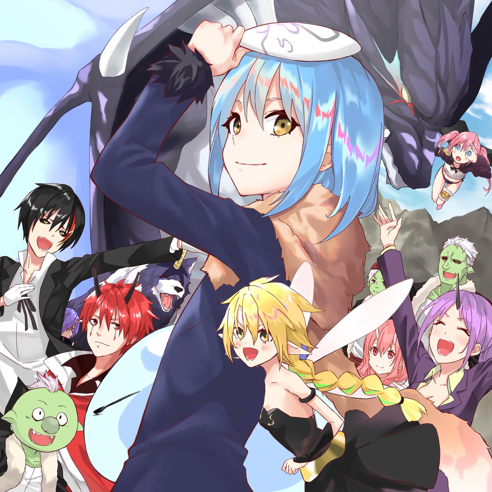 Diablo Tensei Shitara Slime Datta Ken Zerochan Anime Image Board