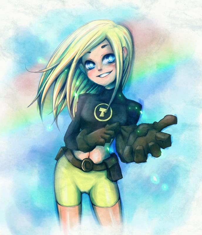 Teen Titans Terra Anime