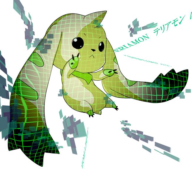 Tags: Anime, Pixiv Id 3895249, Digimon Tamers, Terriermon