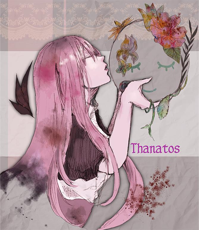 Tags: Anime, Akane (pixiv266832), Thanatos-ko, Thanatos (Sound Horizon) (Story Cd), Fanart From Pixiv, Fanart, Pixiv, Sound Horizon