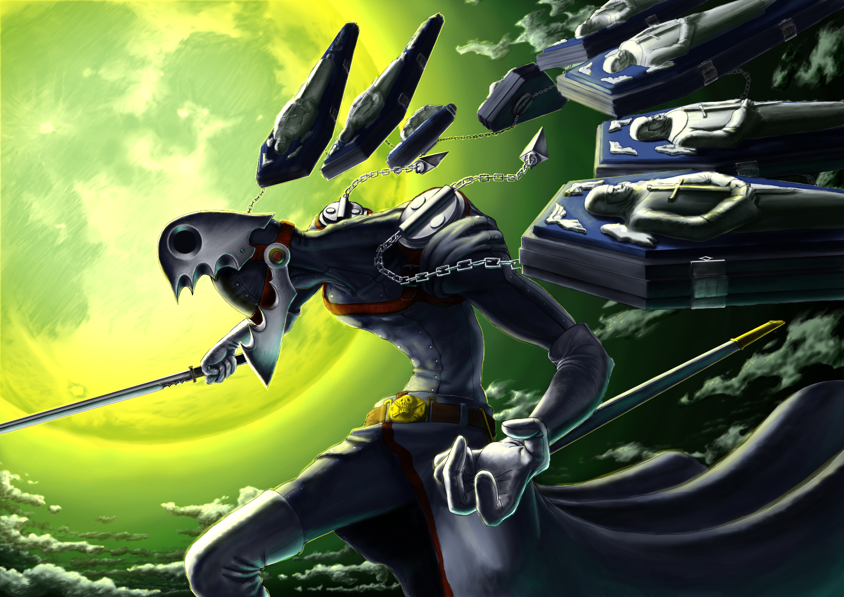 Thanatos Persona Shin Megami Tensei Persona 3 Image