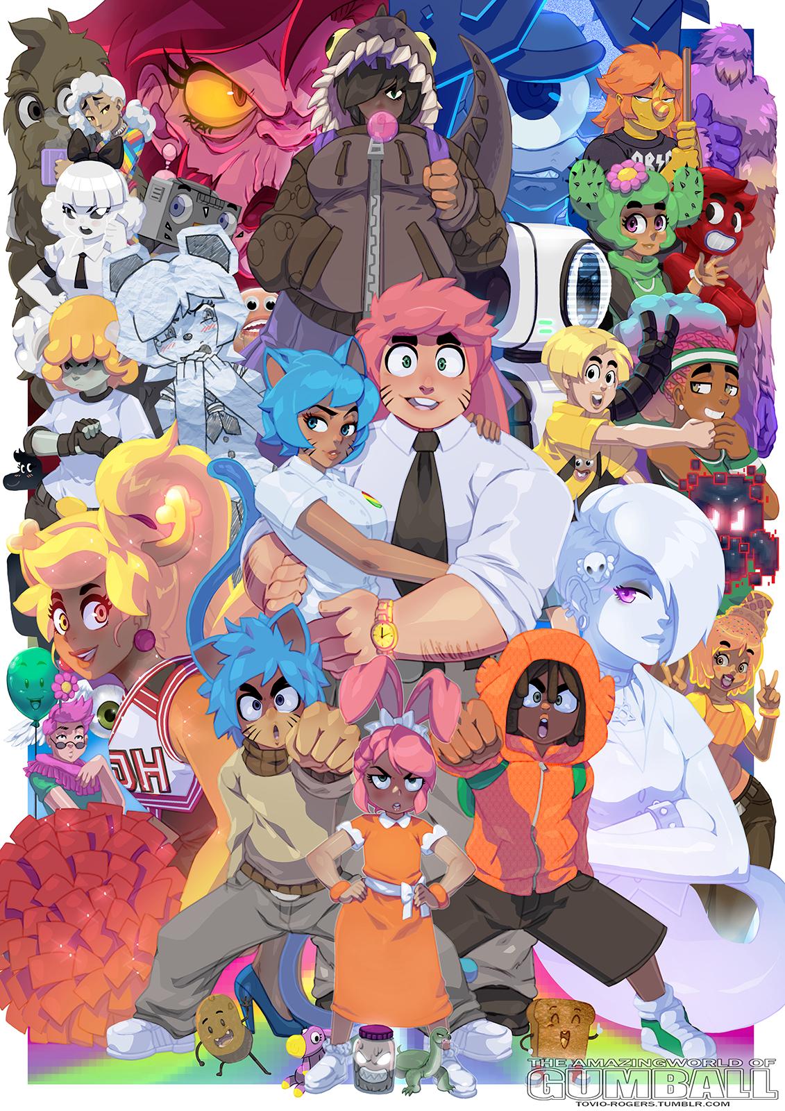 Tina Rex The Amazing World Of Gumball Zerochan Anime Image Board