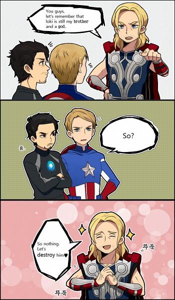 Tags: Anime, Laphy, Marvel, Iron Man, The Avengers, Chris Evans, Robert Downey Jr.