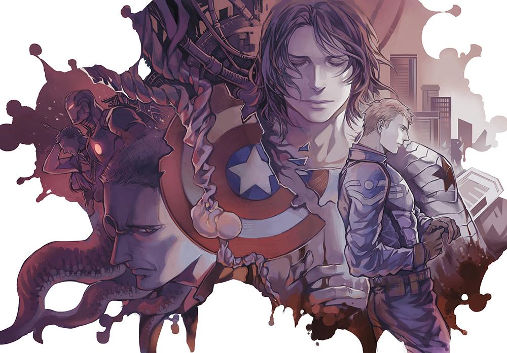 James Buchanan Quot Bucky Quot Barnes Marvel Zerochan Anime