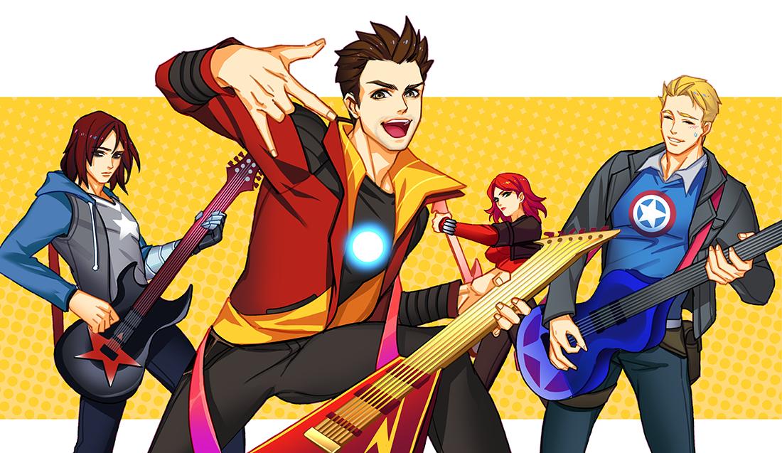 Reader X Avengers Fan Art – Wonderful Image Gallery