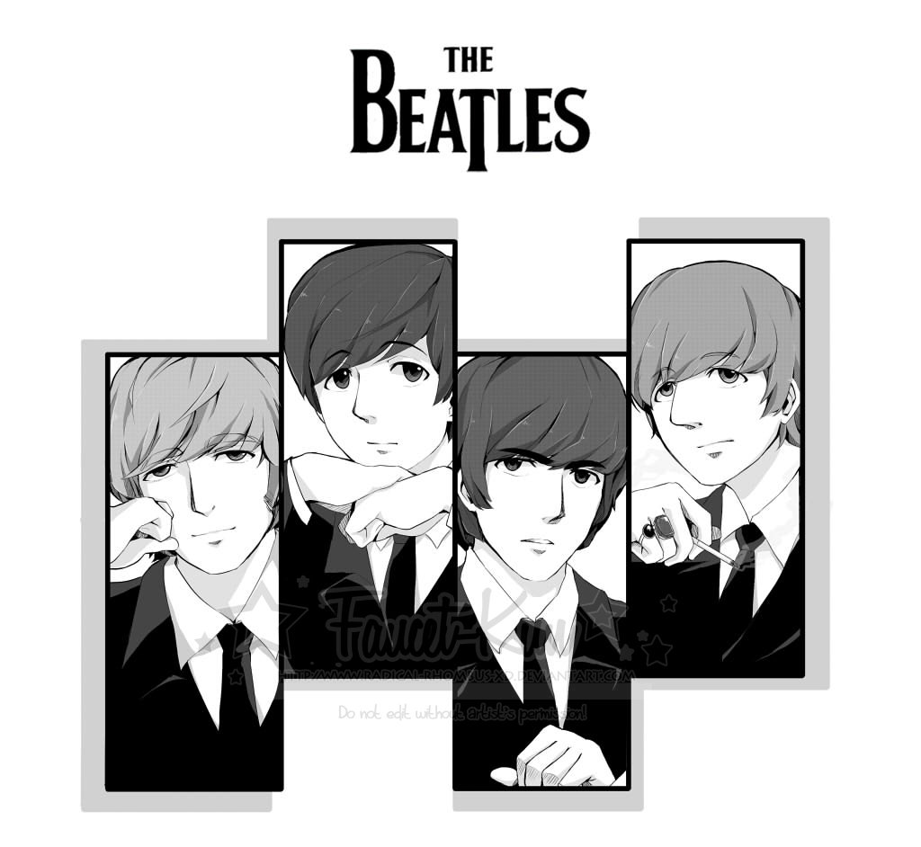 The Beatles Band Page 3 Of 5 Zerochan Anime Image Board