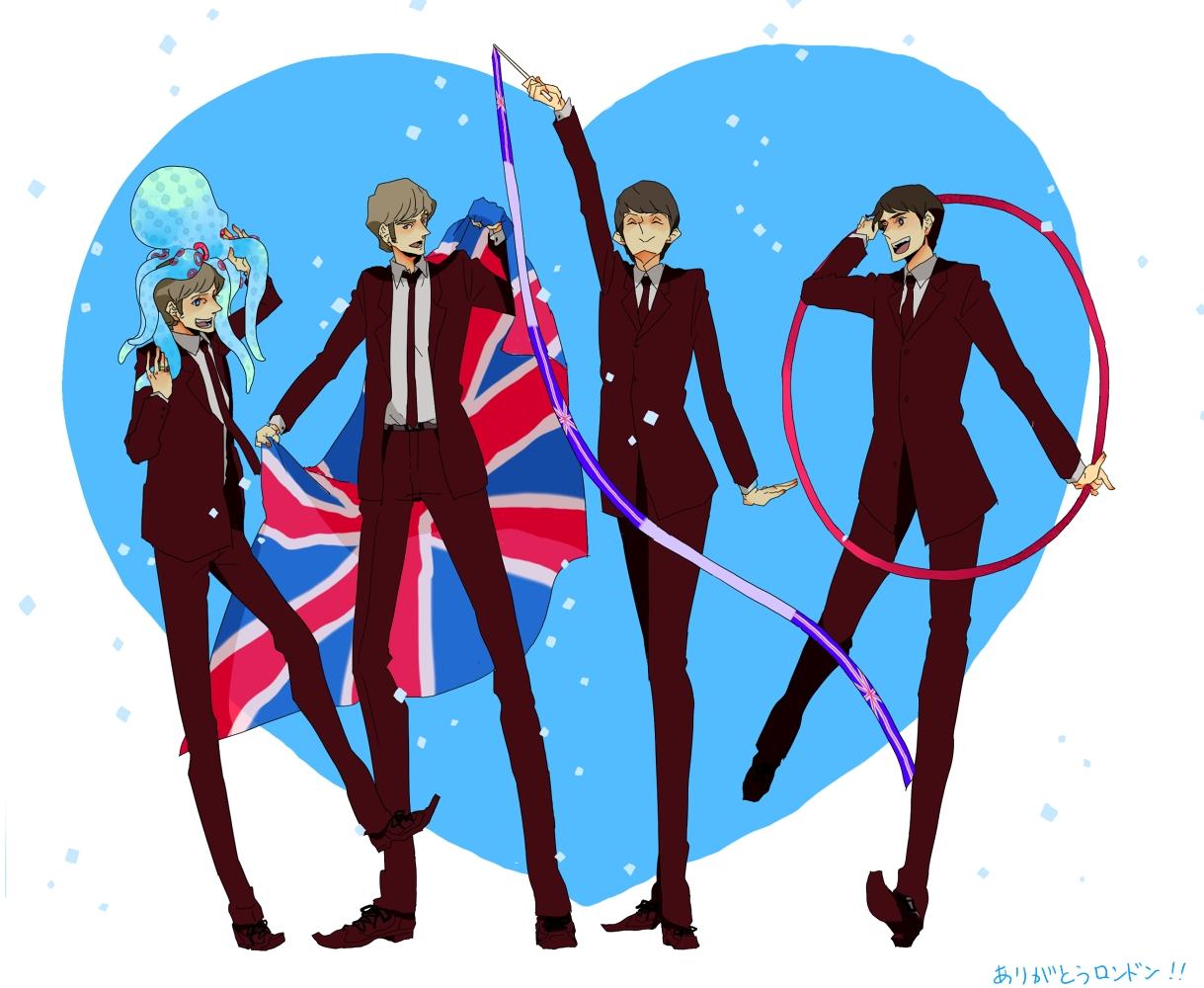 Tags Anime Ringo Starr John Lennon George Harrison Paul Mccartney