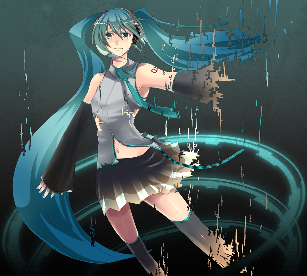 The Disappearing of Hatsune Miku ~ Hatsune Miku Project ...