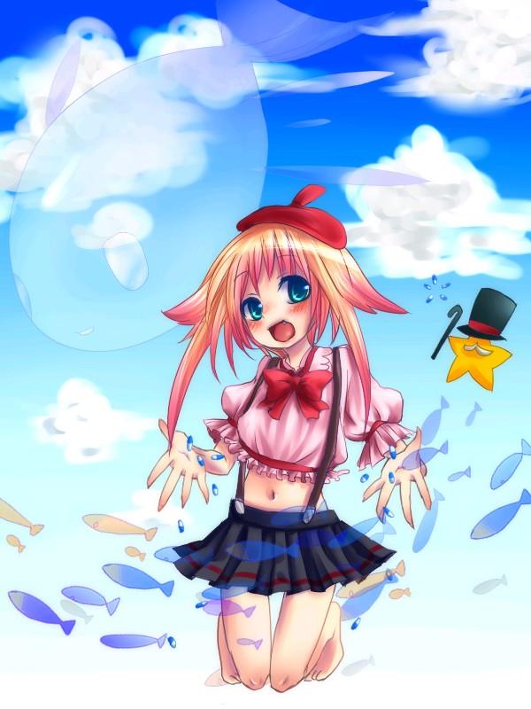 Tags: Anime, VOCALOID, Shii-tan, The Girl's Fantastic Garden
