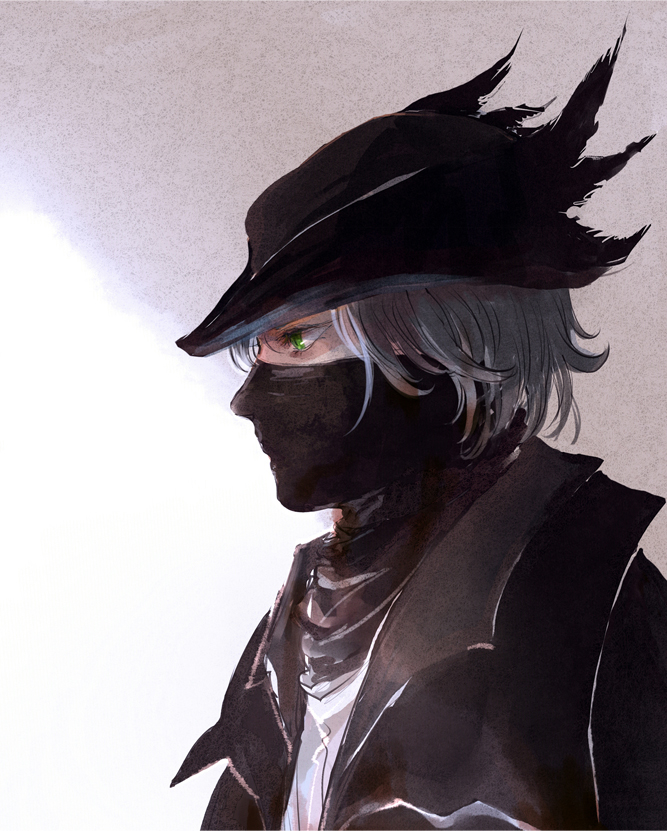 Tags: Anime, Pixiv Id 2791970, Bloodborne, The Hunter (Bloodborne), Fanart From Pixiv, Pixiv, Fanart