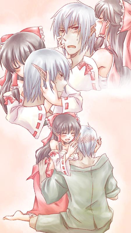 Tags: Anime, Meg Maru2, Final Fantasy XI, Touhou, Buront, Hakurei Reimu, Elvaan, The Iron of Yin and Yang