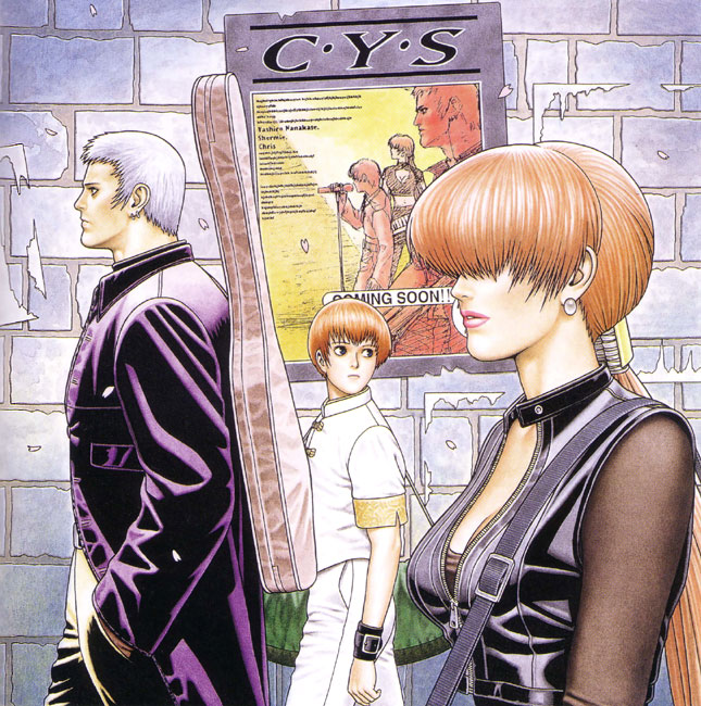 Tags: Anime, The King of Fighters, Chris (The King of Fighters), Shermie, Yashiro Nanakase