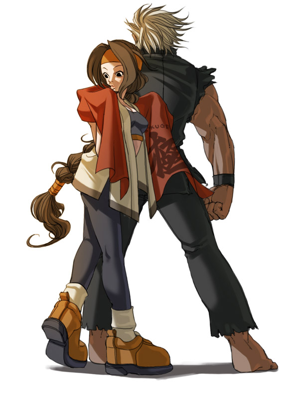 Tags: Anime, Falcoon, SNK Playmore, Art of Fighting, The King of Fighters, Sakazaki Ryo, Sakazaki Yuri