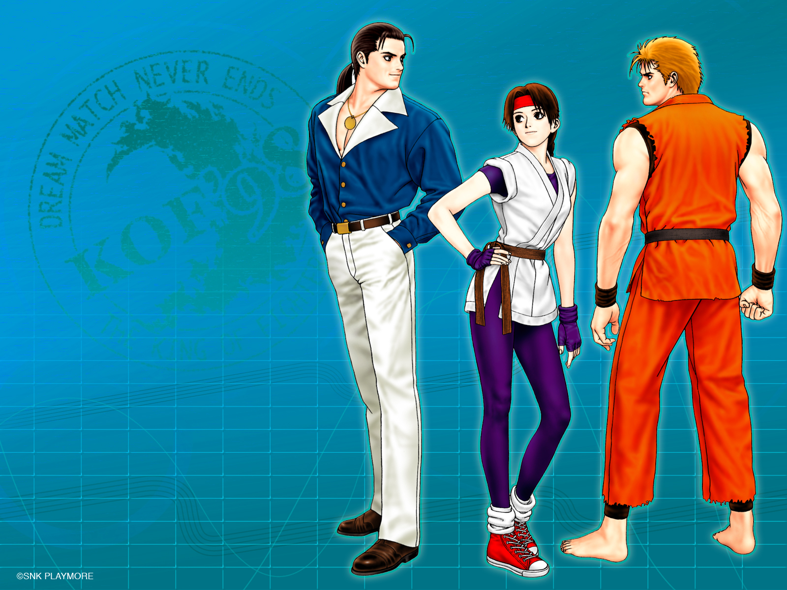 The King Of Fighters Wallpaper 899974 Zerochan Anime Image Board