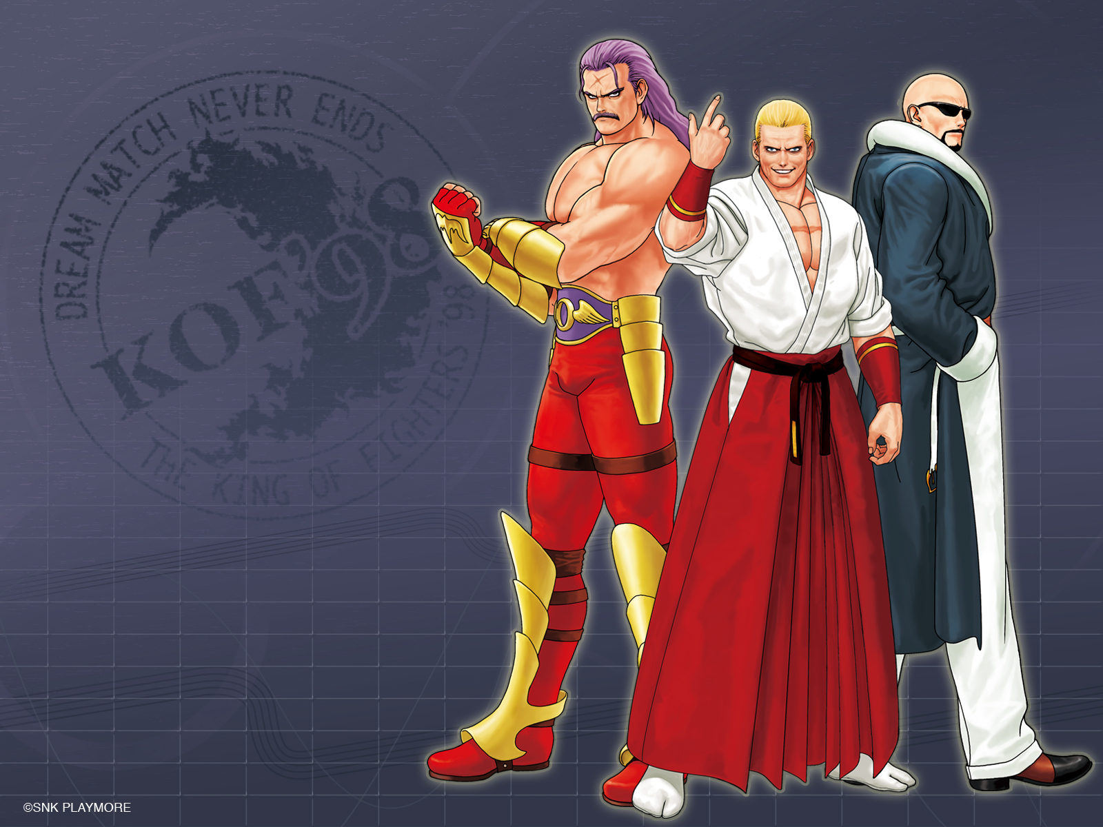 The King Of Fighters Wallpaper 902195 Zerochan Anime Image Board