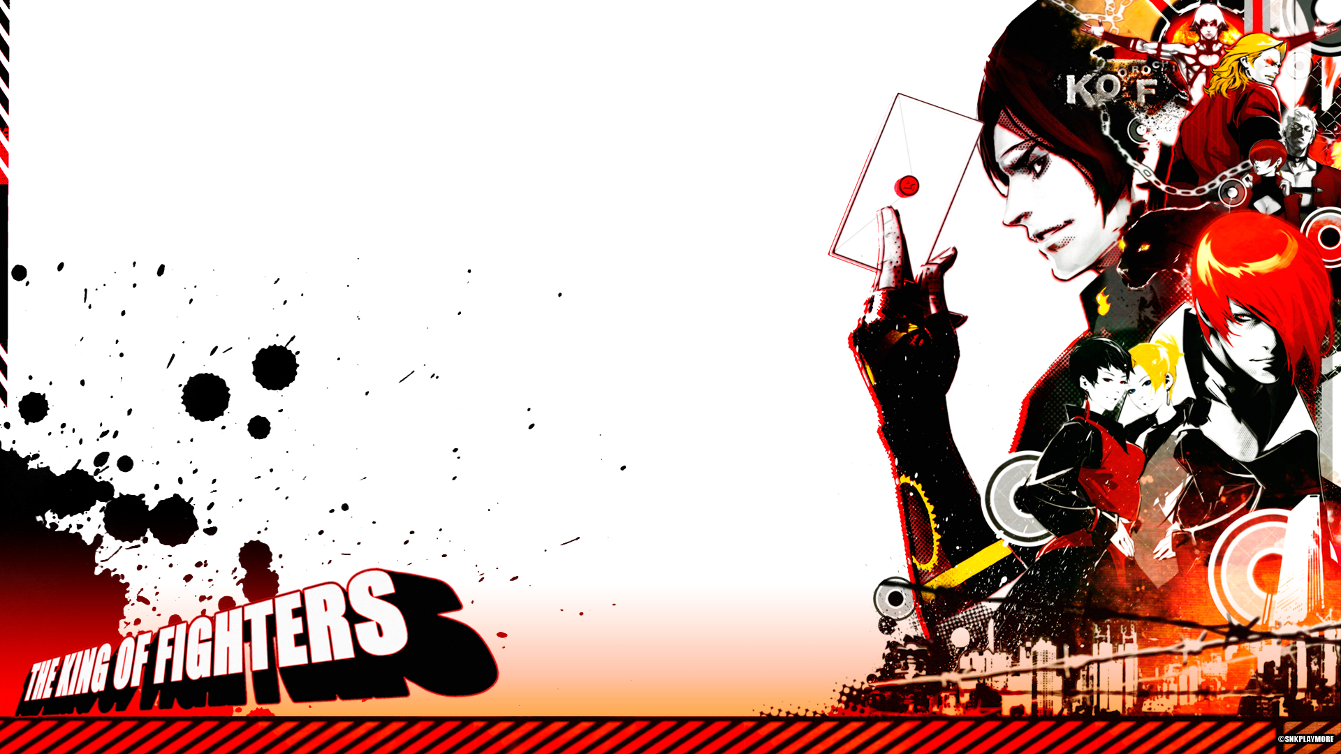 The King Of Fighters Hd Wallpaper 903318 Zerochan Anime