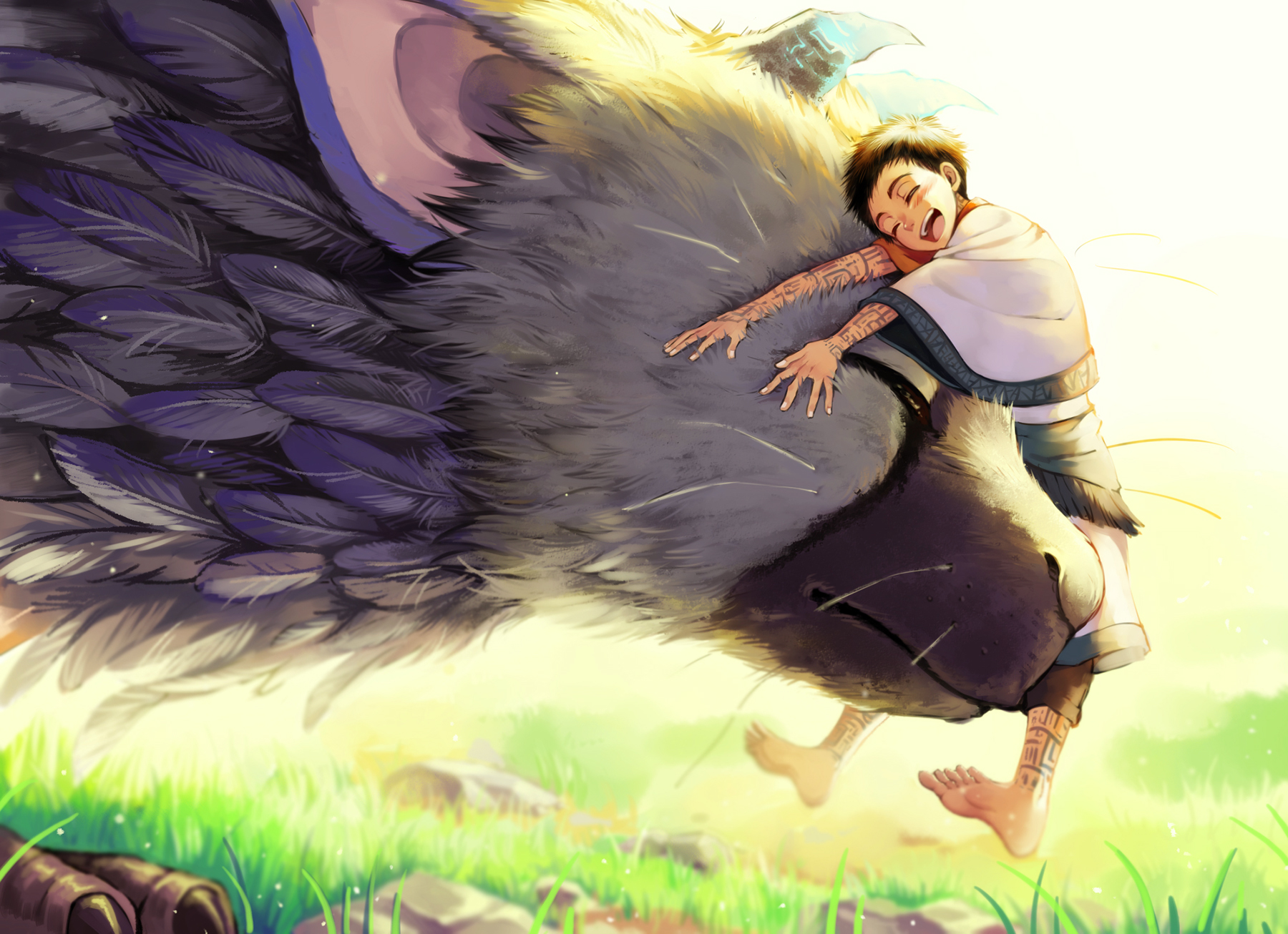 The Last Guardian Zerochan Anime Image Board