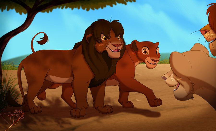 Lion king scar and nala mating