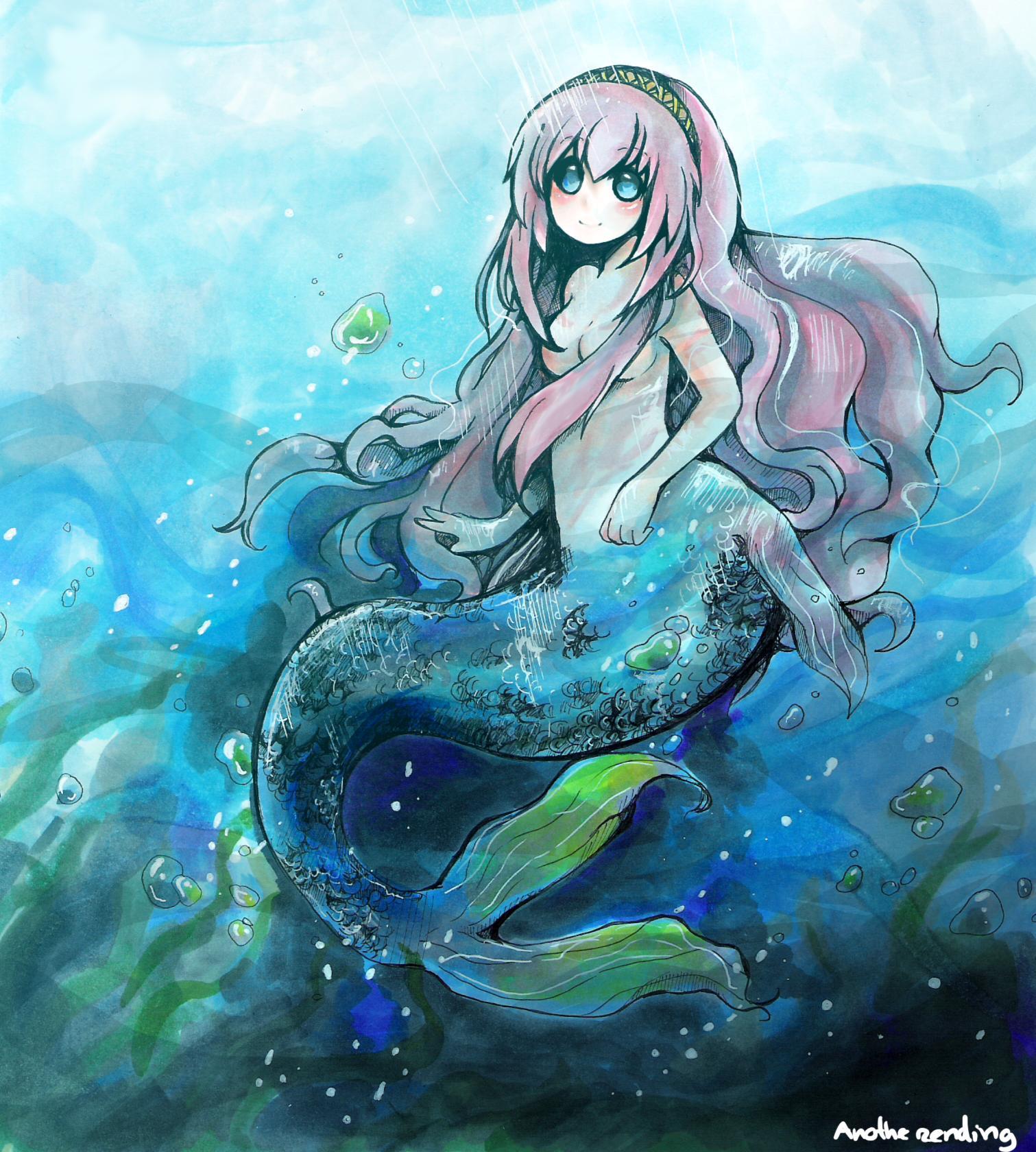 Zerochan vocaloid the little mermaid vocaloid 659475