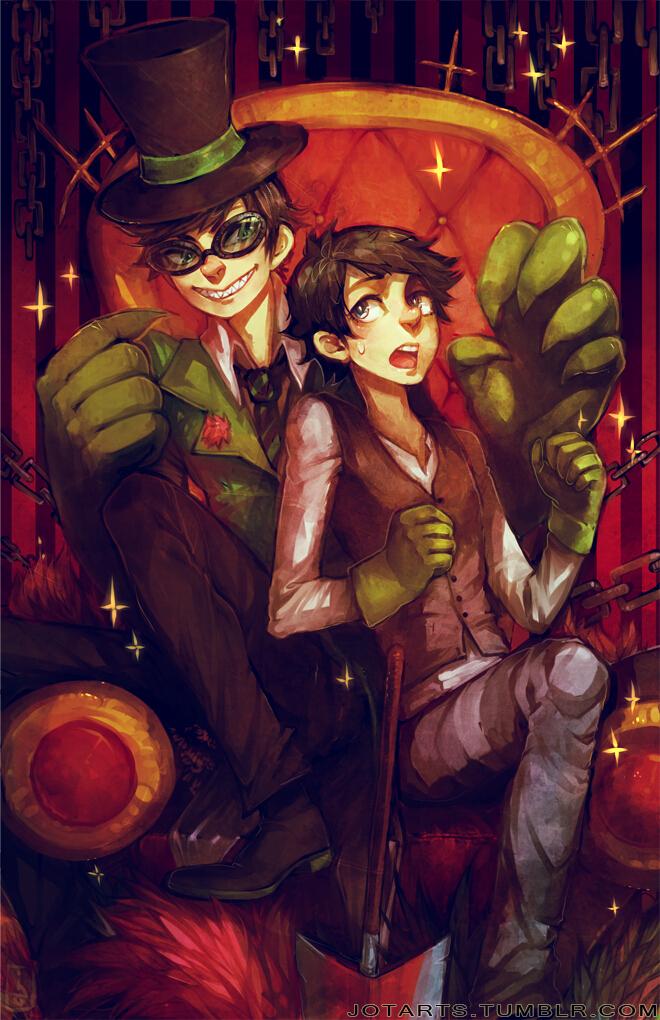 Tags: Anime, Jotaku, The Lorax, Once-ler, Green Handwear, Green Gloves, PNG Conversion, Tumblr, deviantART, Mobile Wallpaper, Fanart From DeviantART, Fanart