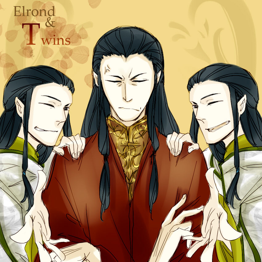 Elladan and Elrohir Anime