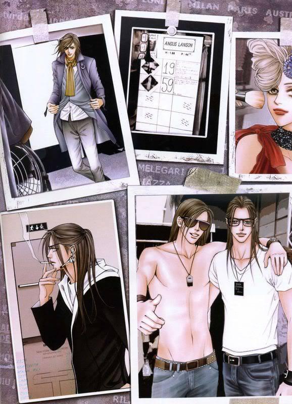 Tags: Anime, The One, Angus Lanson, Eros Lanson, Lele Cane