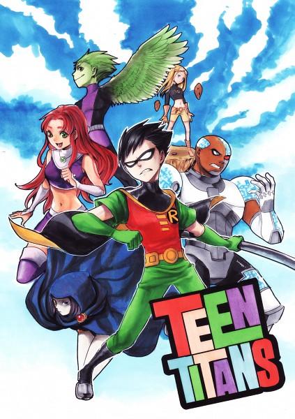 Tags: Anime, Guruusha, The Teen Titans, Kingdom Hearts: Birth by Sleep, Robin (DC Comics), Terra (Teen Titans), Cyborg (Teen Titans)