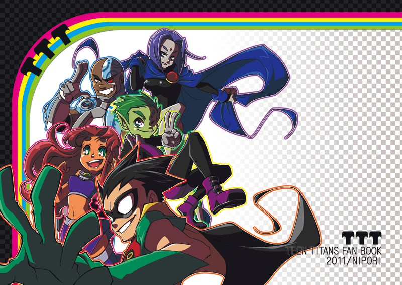The Teen Titans ...